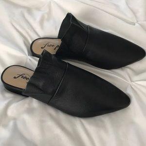 Free People Sienna black loafers